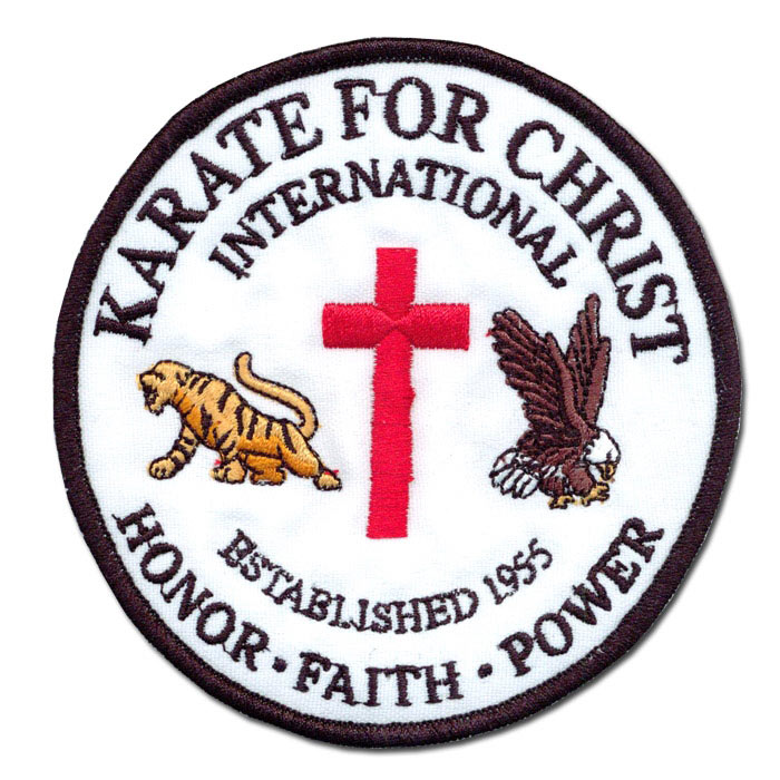Karate for Christ International Patch