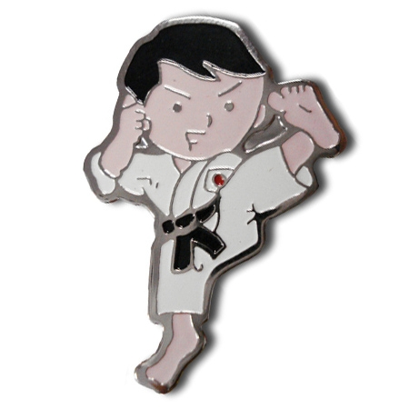 Karate Kid Lapel Pin