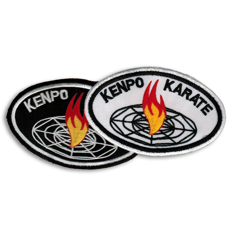 Kenpo Karate Fire Patch
