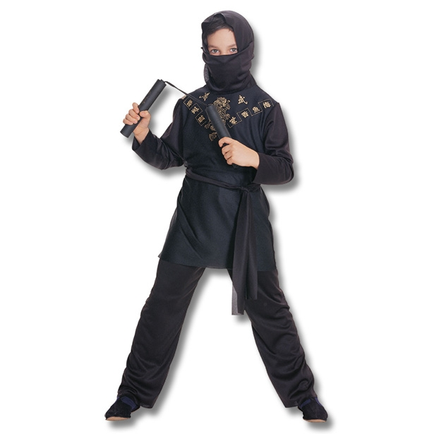 Kids Black Ninja Costume  sc 1 st  KarateMart : adult ninja halloween costume  - Germanpascual.Com