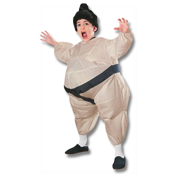Kids Inflatable Sumo Wrestler Costume  sc 1 st  KarateMart & Kids Infalatable Sumo Wrestler Costume - Childrenu0027s Air Filled Fat ...