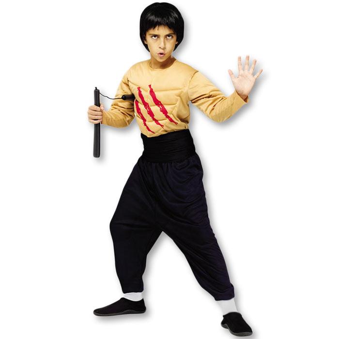 Kids Kung Fu Master Costume  sc 1 st  KarateMart & Kids Kung Fu Master Costume - Child Bruce Lee Costume - Kids Enter ...