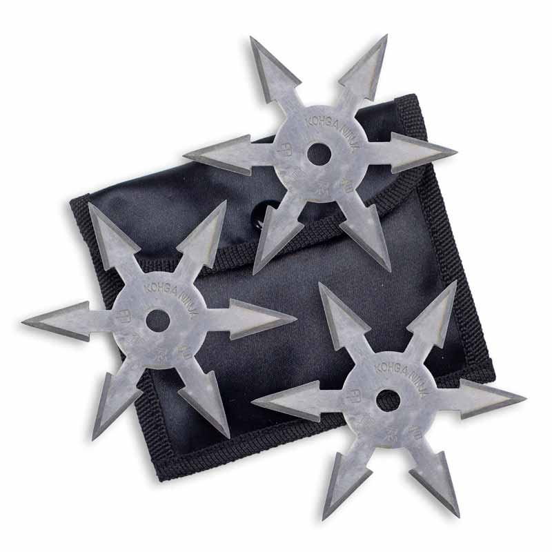Kohga Silver Throwing Stars
