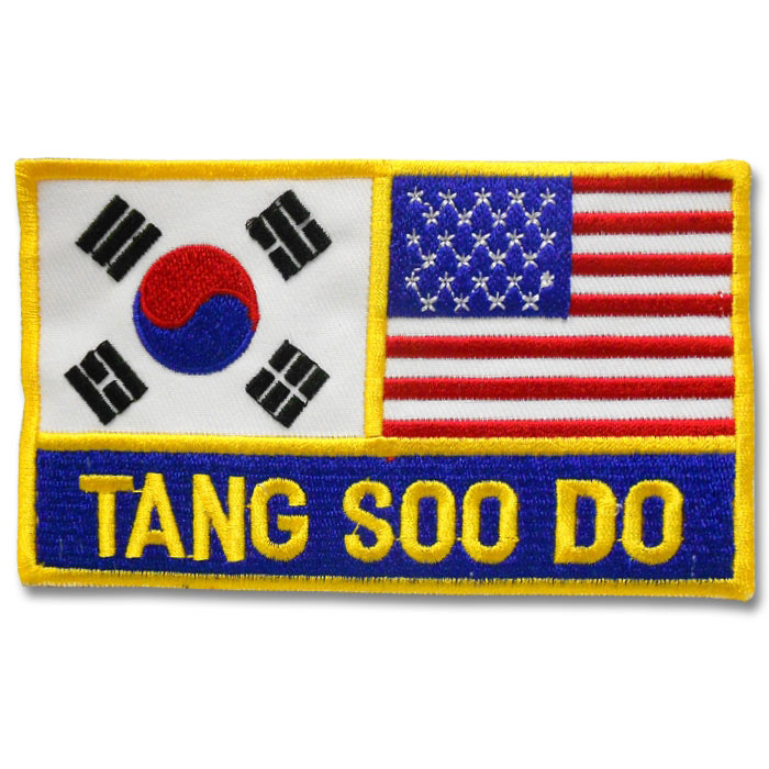 Korean American Tang Soo Do Patch