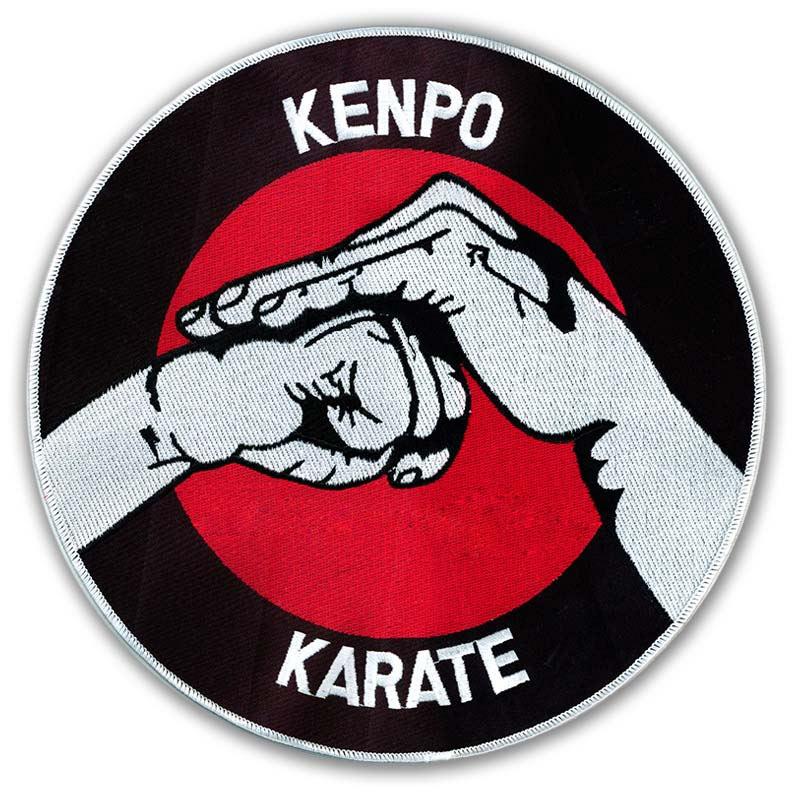 Large Kenpo Karate Patch Big Karate Uniform Patches Rising Sun