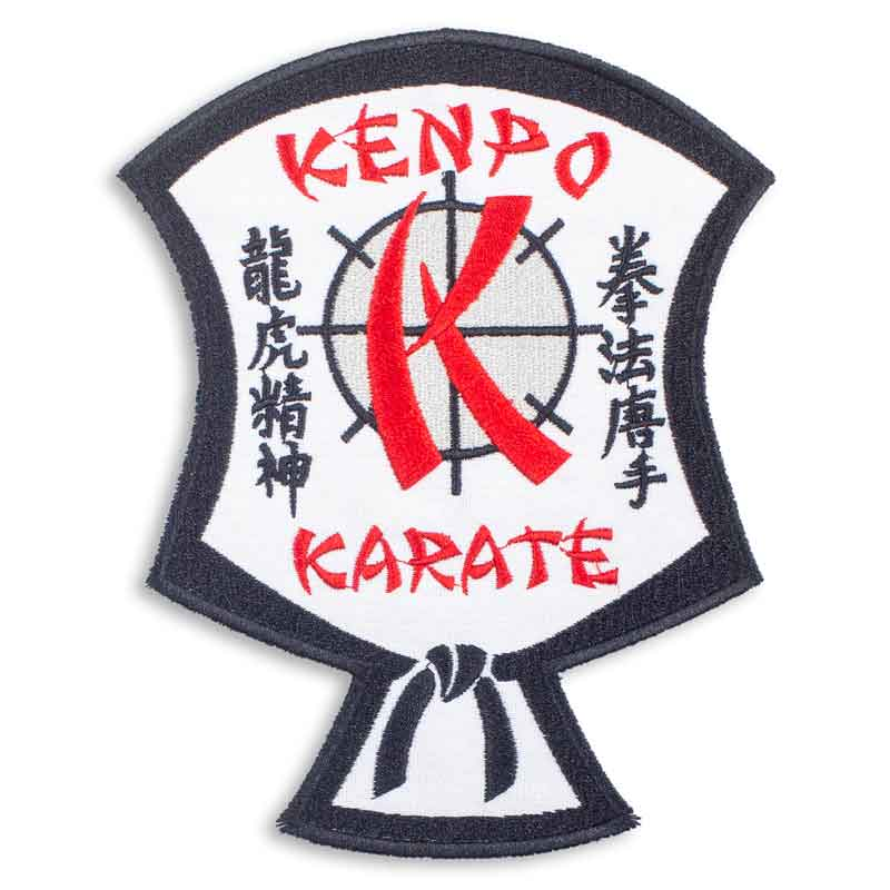 Large Kenpo Karate Shield Patch