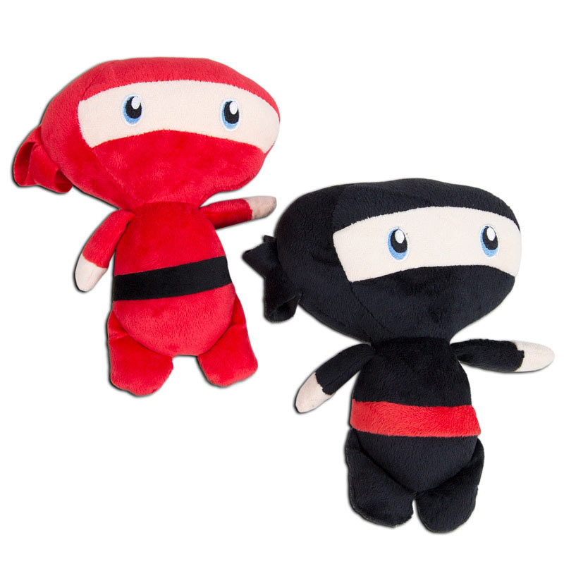 Large Stuffed Ninjas (2-Pack)