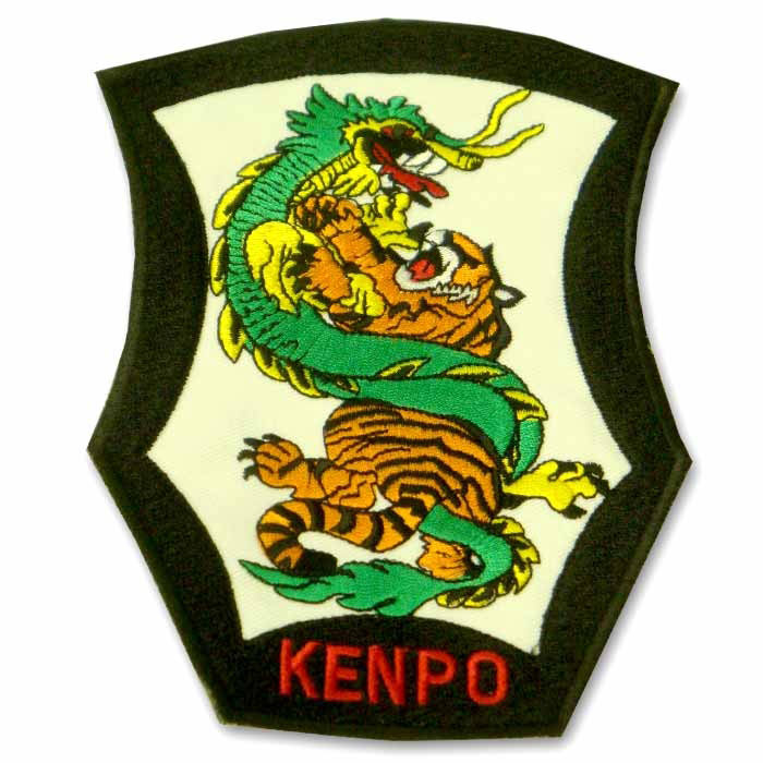 Large Tiger and Dragon Kenpo Patch