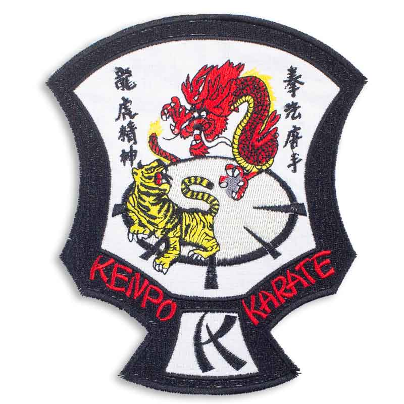 Large Tiger Dragon Kenpo Karate Patch