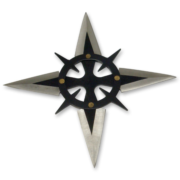 Windows10up.com Download Free Ninja Star - Metal Spiked Ninja Shuriken - Real Classic Ninja