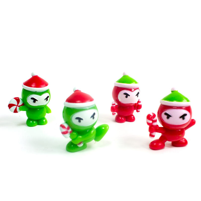 Mini Christmas Ninjas (4 Pack)