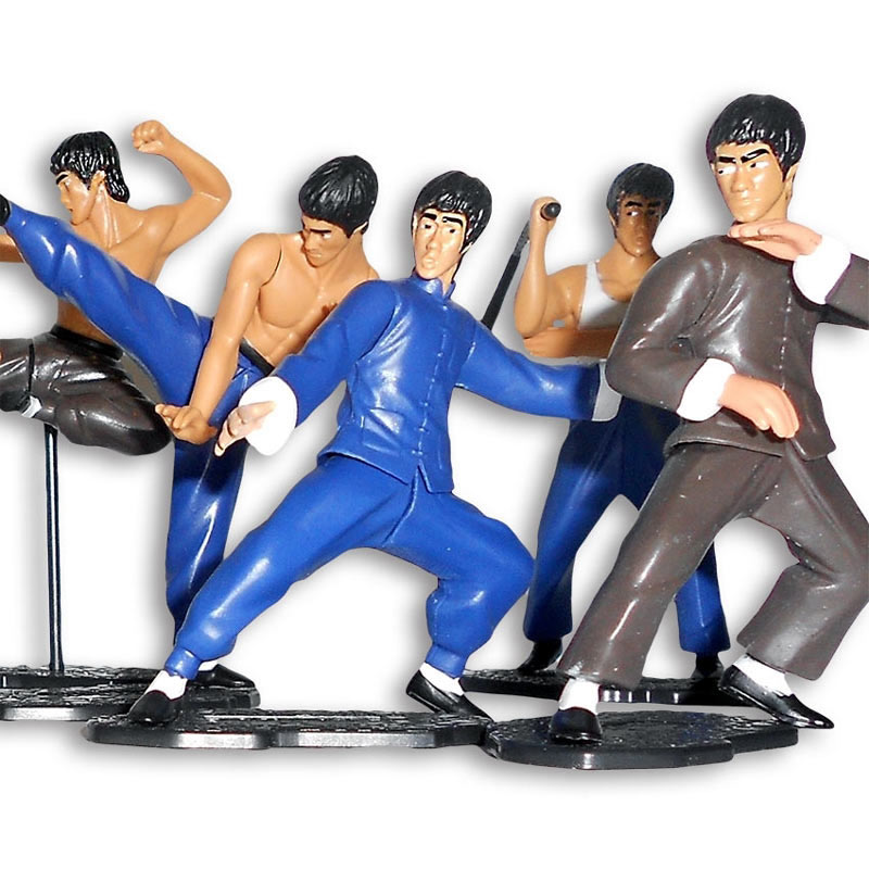 mini kung fu figurine kung fu fighting figure enter the dragon model. Black Bedroom Furniture Sets. Home Design Ideas