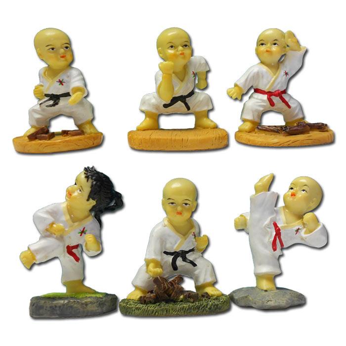 mini kung fu monk set kung fu gift sets resin kung fu statue. Black Bedroom Furniture Sets. Home Design Ideas