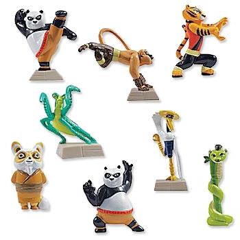 mini kung fu panda figurines vending machine kung fu panda toys. Black Bedroom Furniture Sets. Home Design Ideas