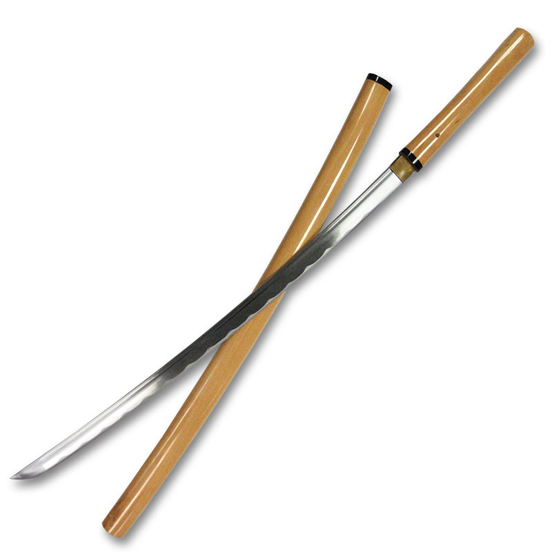 Natural Wood Hand Forged Shirasaya - Handmade Japanese ...