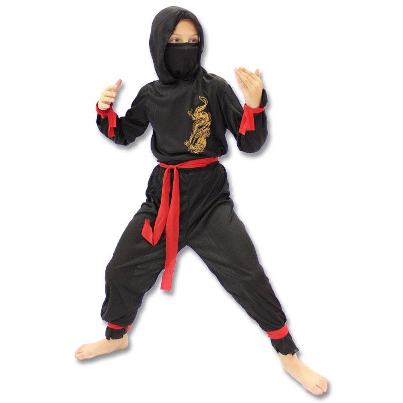 Nice Price Ninja Costume   Budget Kids Ninja Outfit   Childrens Ninja Halloween  Costumes