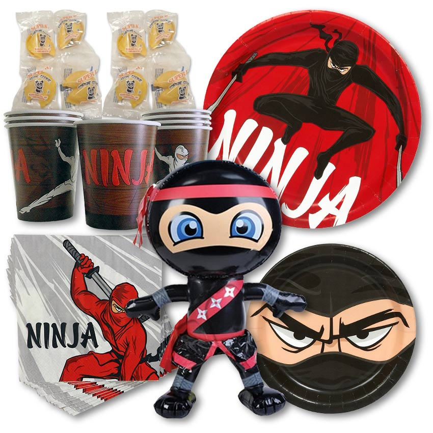 Ninja Birthday Party Pack