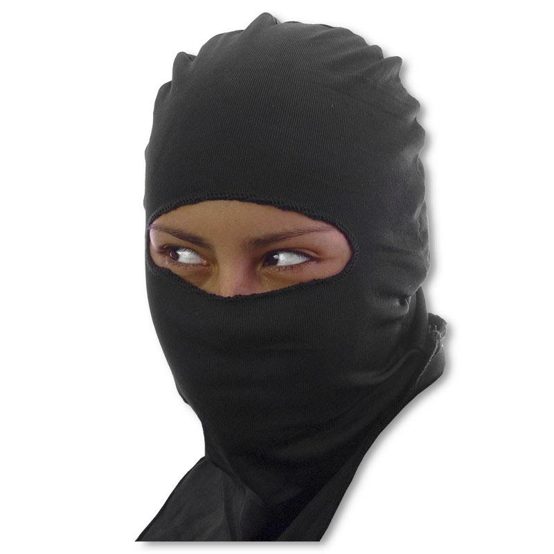ninja face mask black ski mask stretch ninja hood