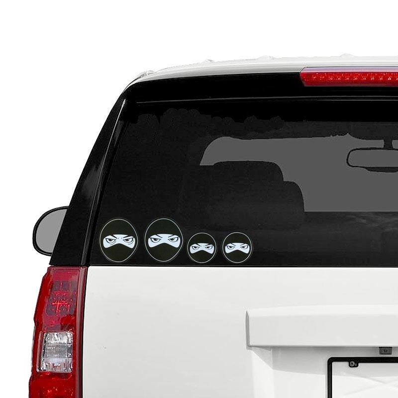 Ninja family car stickers