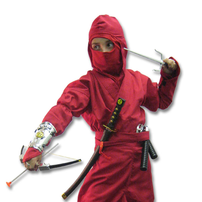 Ninja Scout Costume  sc 1 st  KarateMart : red ninja costumes  - Germanpascual.Com