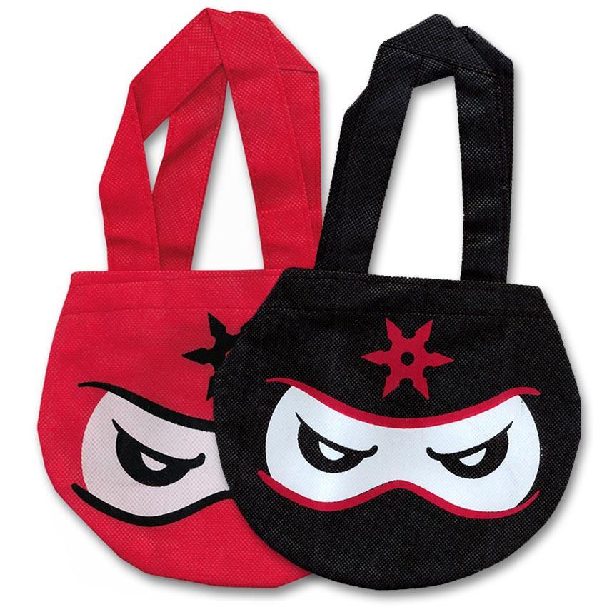 ninja tote bag ninjas party favor baggie ninja mask sack