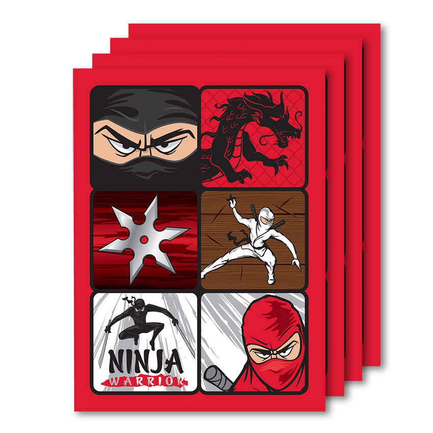 Ninja Birthday Invitations is awesome invitation example