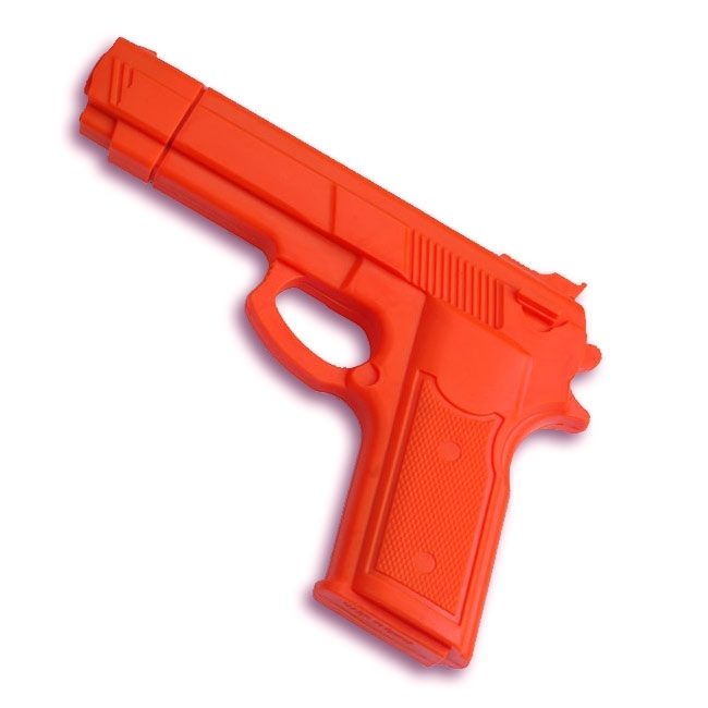 Orange Rubber Gun