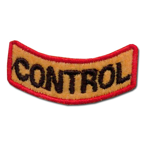 Perfect Control Award Patch (21 Left In Stock)