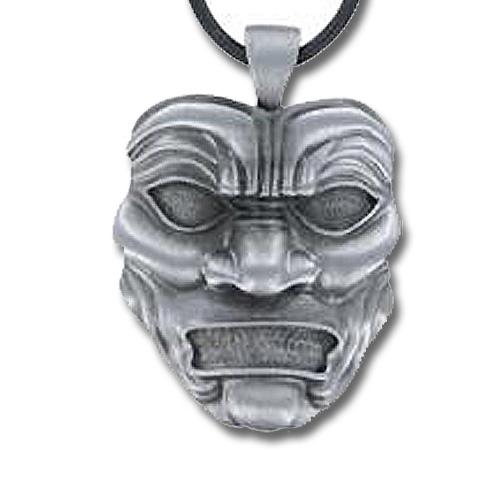 Persian Immortal Mask Necklace - Immortal Silver Pendant ... Persian Immortals Mask