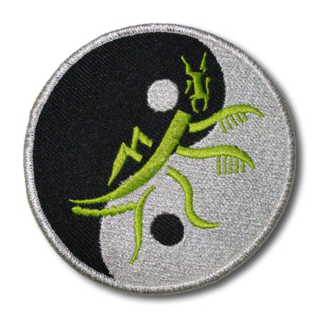 Praying Mantis Kung Fu Patch