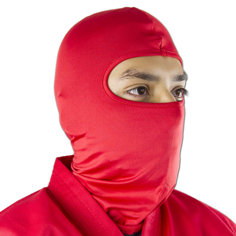 Red Ninja Face Mask