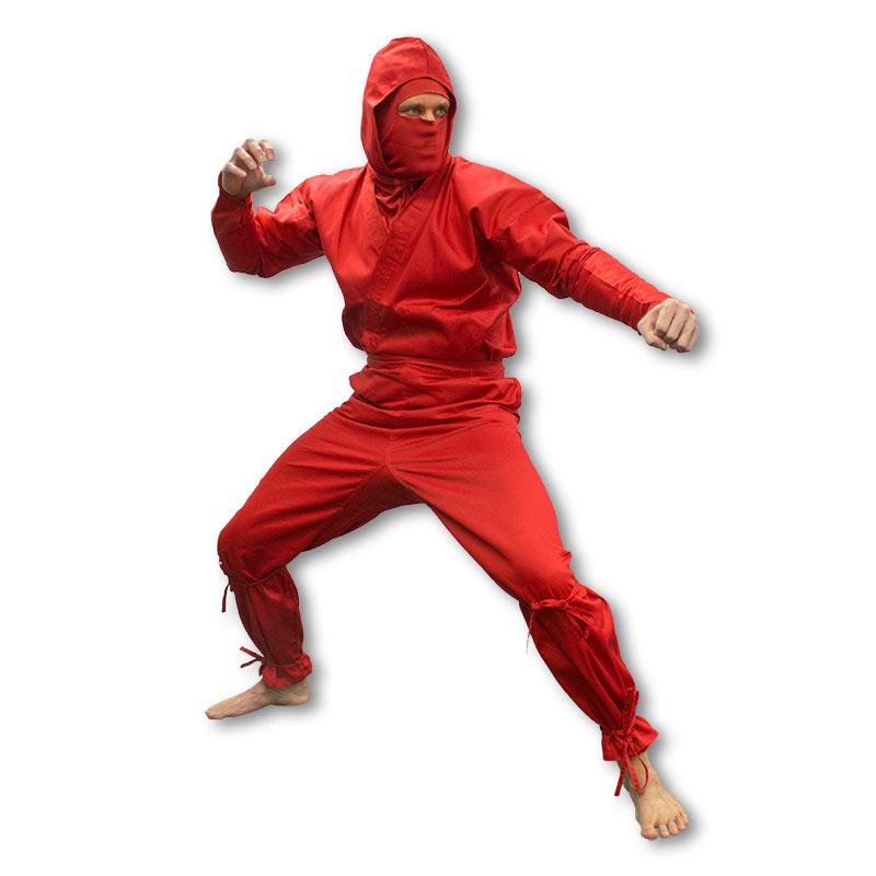 Red Ninja Uniform  sc 1 st  KarateMart & Red Ninja Uniform - Red Ninjutsu Gi - Awesome Ninja Costumes ...