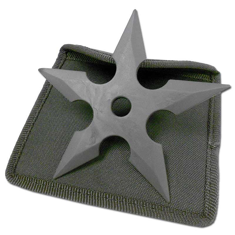 Rubber Five Point Ninja Shuriken