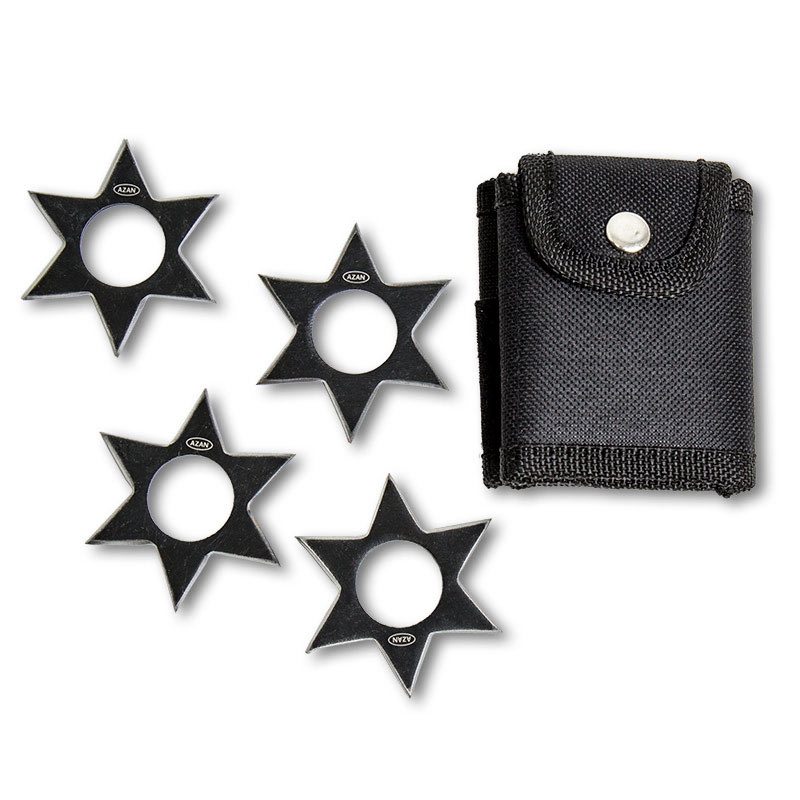 Shinobi Warrior Shuriken Set