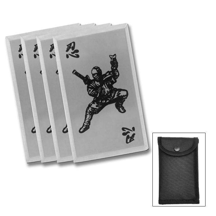 Shinobi Warrior Throwing Cards