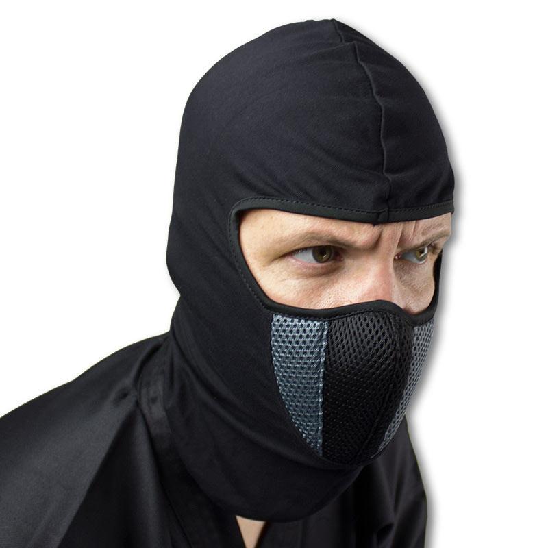 smoke ninja mask gray and black ninja mask ninja