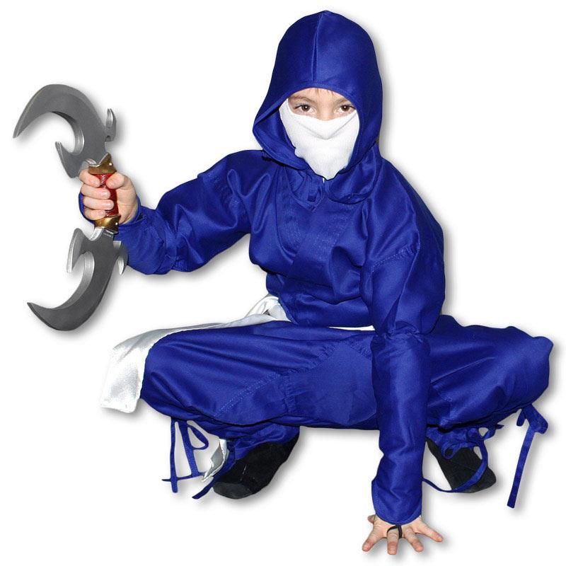 Space Ninja Costume  sc 1 st  KarateMart & Space Ninja Costume - Blue and White Ninja Uniform - Unique Kids ...