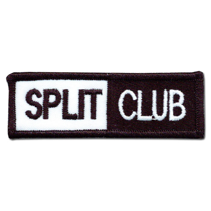 Two-Toned Split Club Patch