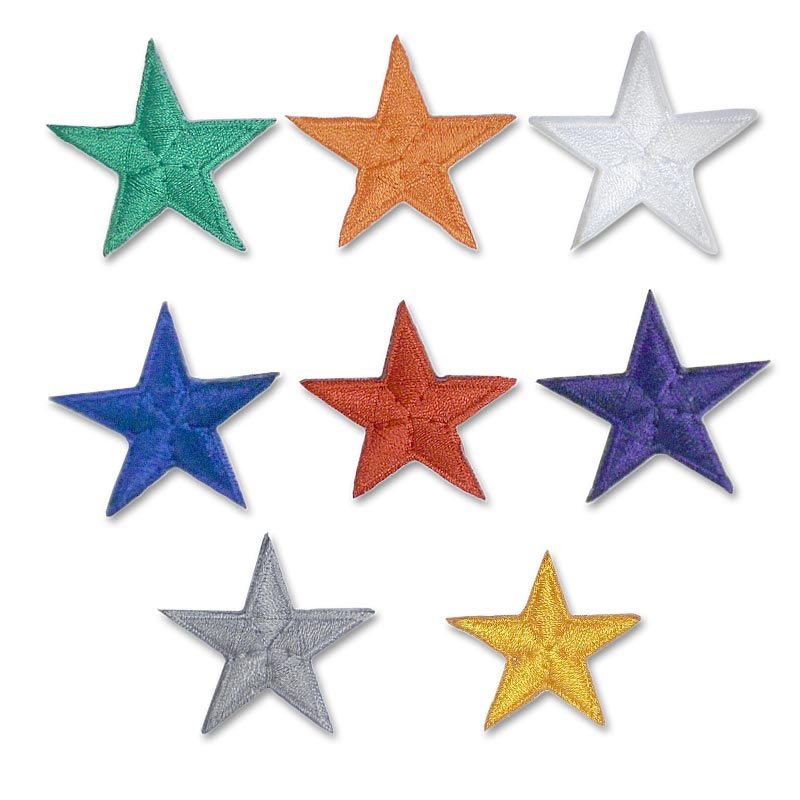 "Star Rank Patches (1.5"")"