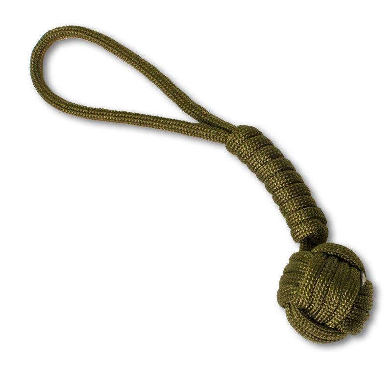 steel monkey fist keychain - Monkey Fist