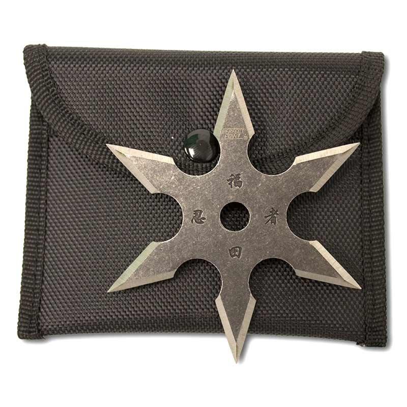 Zbrane Stone-wash-6-point-throwing-star