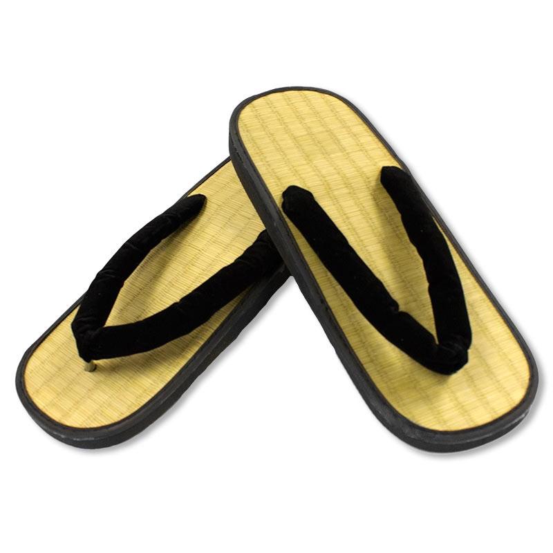 Straw Zori Sandals - Tatami Sandal