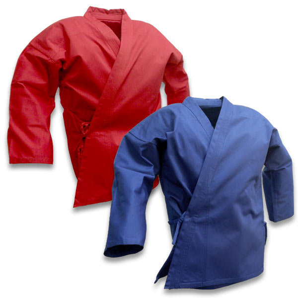 Super Middleweight Colored Karate Jacket (Clearance)