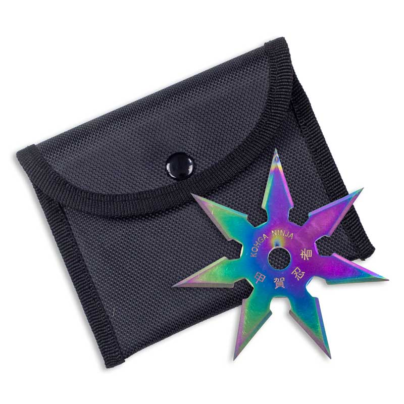 Titanium Finish 7-Point Ninja Star