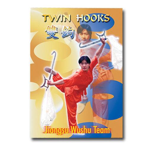 Twin Hooks Dvd Chinese Hook Sword Instructional Dvd Hook Sword