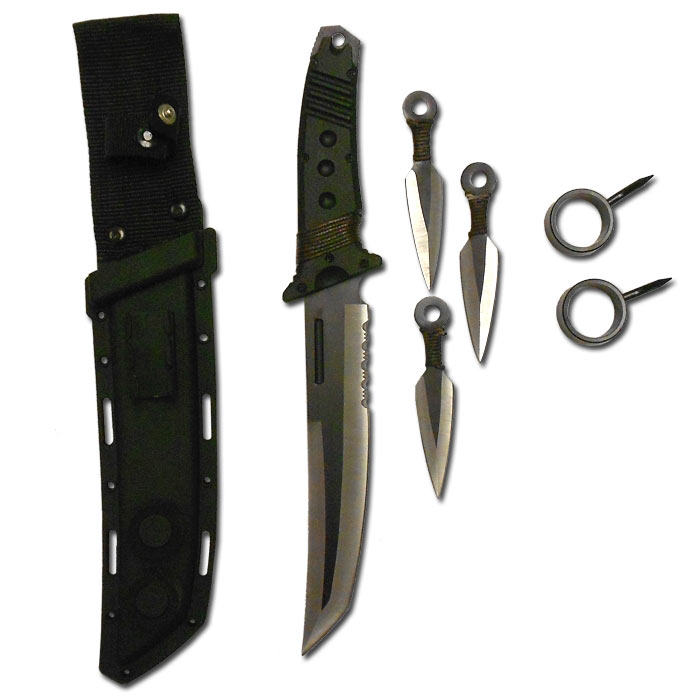 Ultimate Ninja Survival Knife - Survival Knife Kits ...