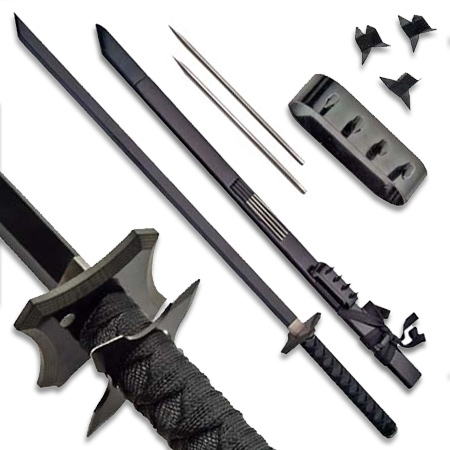 Ninja Weapons - Real Ninja Stars, Swords and Chain Weapons ...
