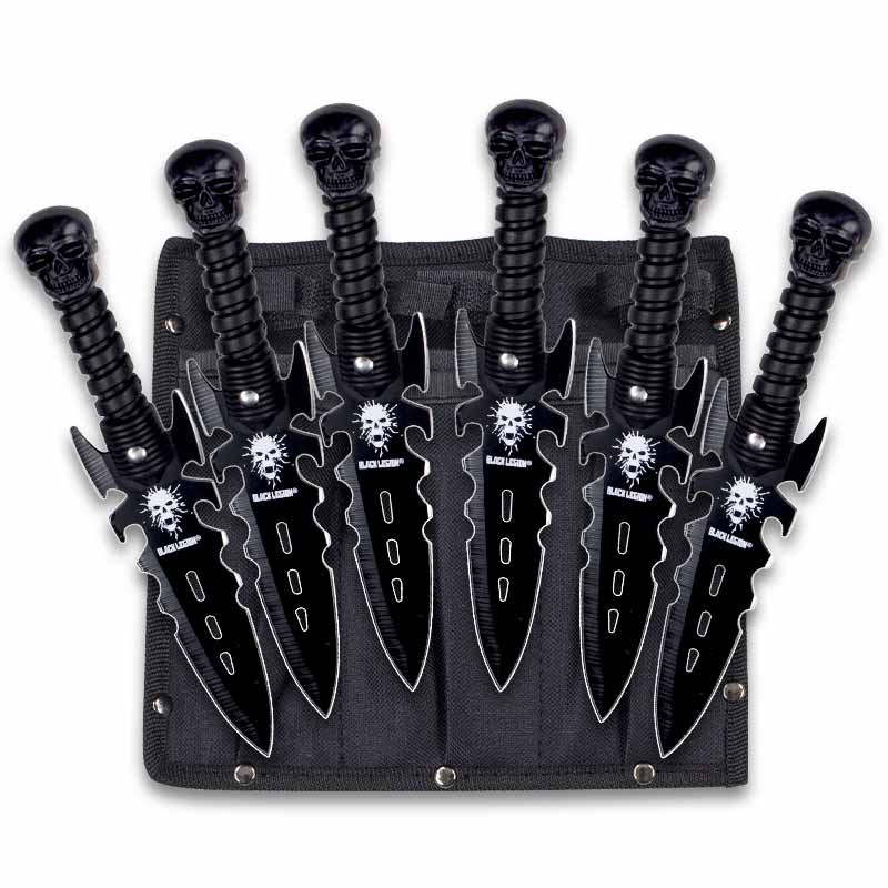 Undead Reaper Throwing Knife Set