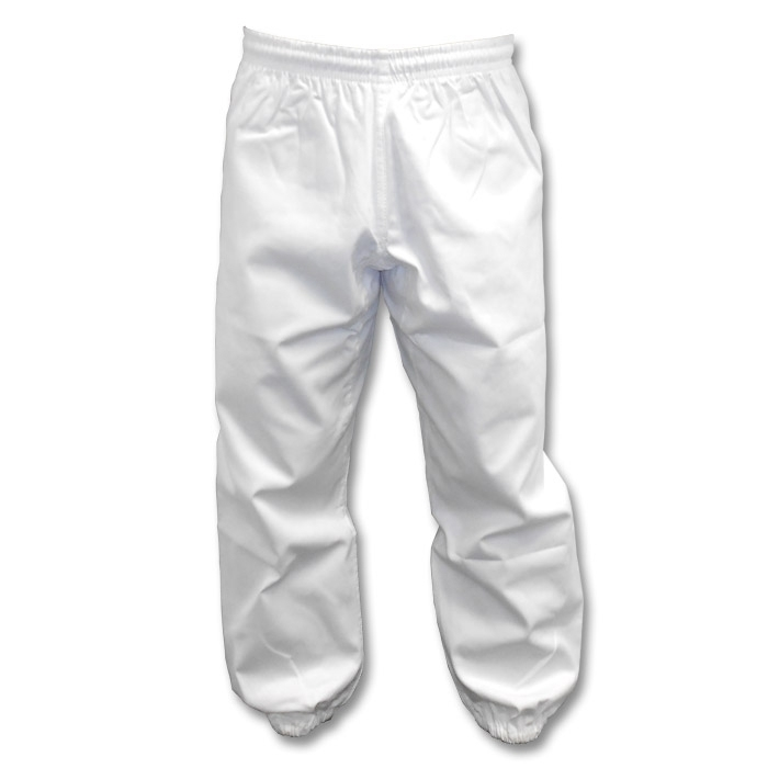 White Kung Fu Pants (Clearance)