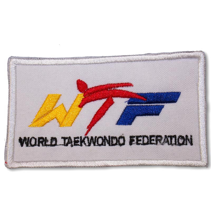 World Taekwondo Federation Patch (3 Left In Stock)